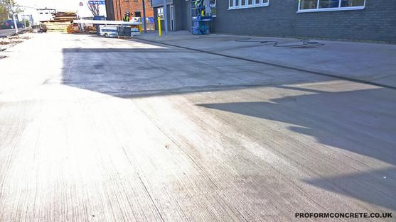 proform-setup and parking area 028 of 02
