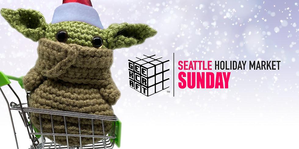 GeekCraft Expo SEATTLE 2021 Holiday Market  | SUN