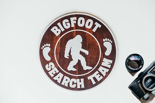 Wall Hanging - Bigfoot Search Team
