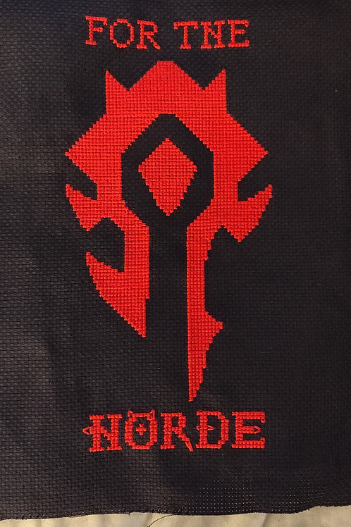 For The Horde Cross Stitch