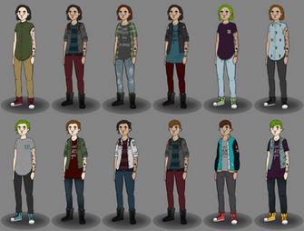 Phe: Character design update