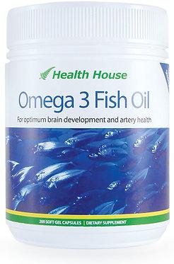 倍濃奧米加3魚油強心健腦配方   Omega 3 Fish Oil – Triple Strength