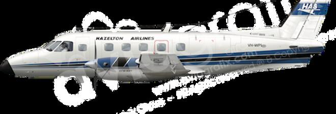 Hazelton - Embraer EMB110P1 - L1 any5combo