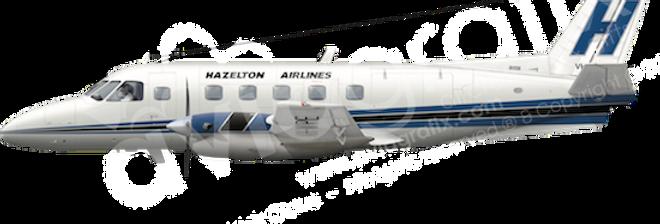 Hazelton - Embraer EMB110P1 - L2 any5combo