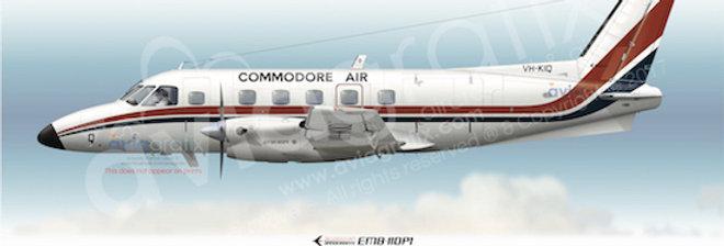 Commodore Air - Embraer EMB-110P1 VH-KIQ