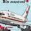 Thumbnail: Air Niugini - Boeing 707-300C - Cartoon Sticker
