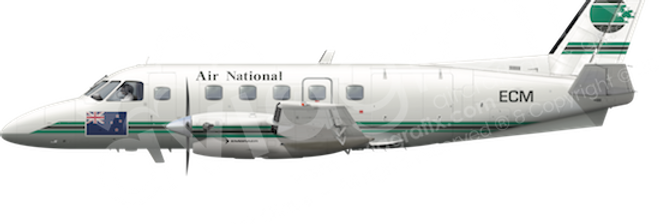 Air National - Embraer EMB110P1A - any5combo