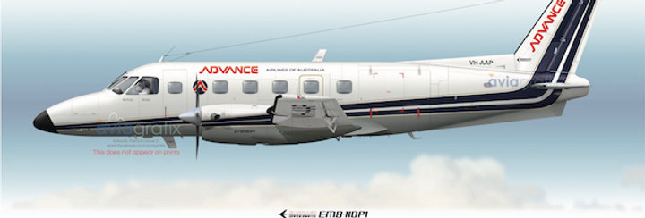 Advance Airlines - Embraer EMB-110P1 VH-AAP