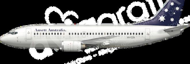 Ansett Australia - Boeing 737-377 - L4 any5combo