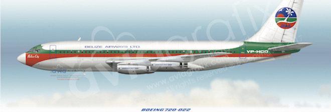 Belize Airways - Boeing 720-022 VP-HCO