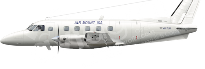 Air Mount Isa - Embraer EMB110P1 - any5combo