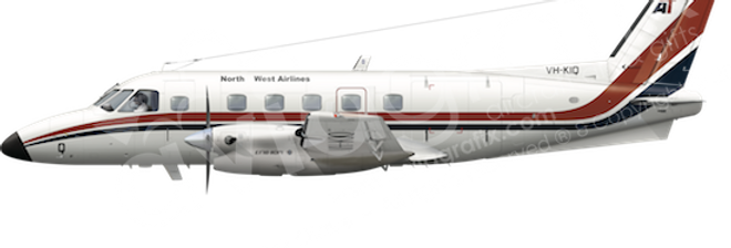 North West Airlines - Embraer EMB110P1 - any5combo