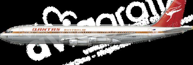 QANTAS - Boeing 707-338C - L8 any5combo