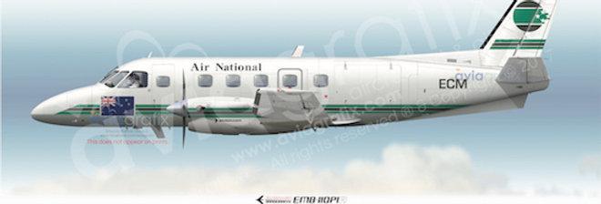 Air National - Embraer EMB-110P1A ZK-ECM