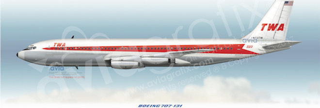 TWA - Boeing 707-131 N731TW