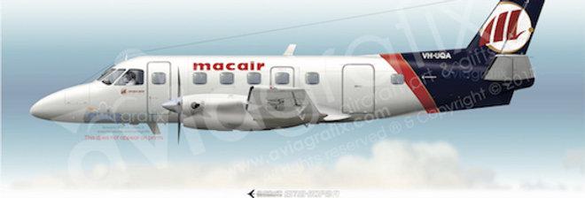 Macair - Embraer EMB-110P2 VH-UQA