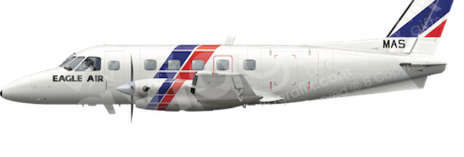 Eagle Air - Embraer EMB110P1 - L5 any5combo