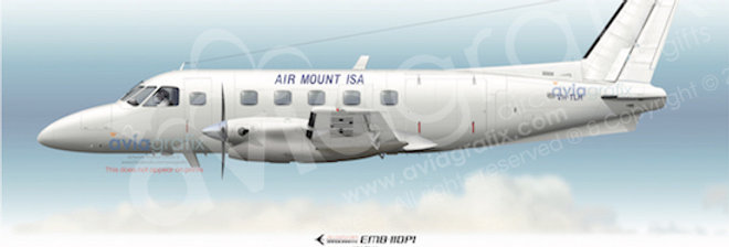 Air Mount Isa - Embraer EMB-110P1 VH-TLH