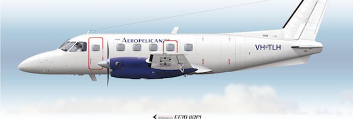 Aeropelican - Embraer EMB-110P1 VH-TLH