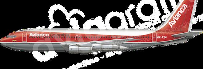 Avianca - Boeing 720-059B L6 any5combo