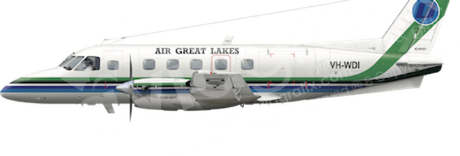 Air Great Lakes - Embraer EMB110P1 - any5combo