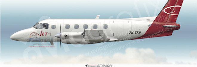 Cityjet - Embraer EMB-110P1 ZK-TZN