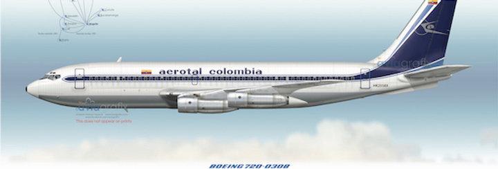 Aerotal - Boeing 720-030B HK-2558X