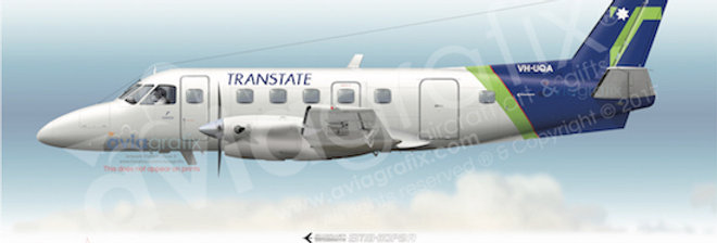 Transtate Airlines - Embraer EMB-110P2 VH-UQA
