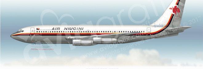 Air Niugini - Boeing 720-023B P2-ANG