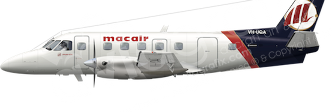 Macair - Embraer EMB110P2 - any5combo
