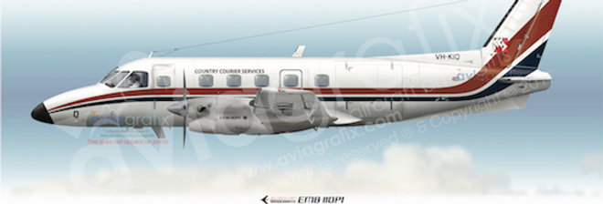 Country Courier Services - Embraer EMB-110P1 VH-KIQ