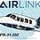 Thumbnail: Airlink - Piper PA31-350 - Cartoon Sticker