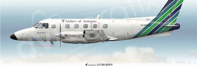 Airlines of Tasmania - Embraer EMB-110P1 VH-WPI