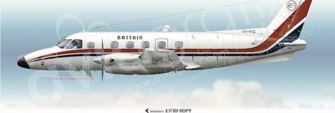 Bassair - Embraer EMB-110P1 VH-KIQ