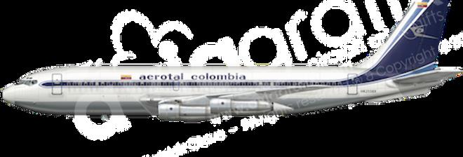 Aerotal - Boeing 720-030B any5combo