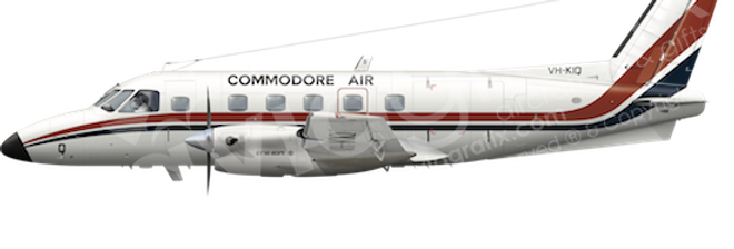 Commodore Air - Embraer EMB110P1 - any5combo