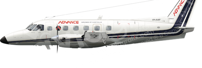 Advance Airlines - Embraer EMB110P1 - L5 any5combo
