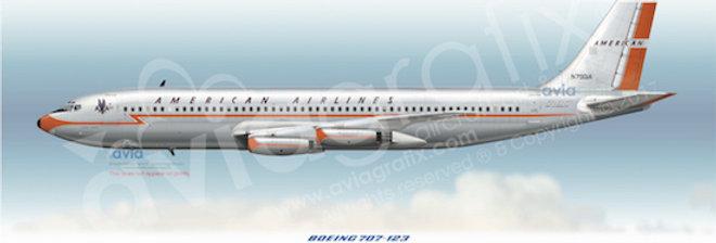 American Airlines - Boeing 707-123 N7501A