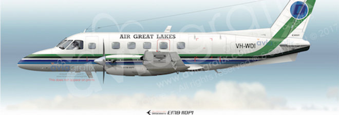 Air Great Lakes - Embraer EMB-110P1 VH-WDI