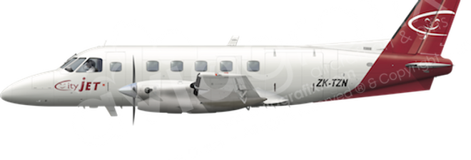 Citijet - Embraer EMB110P1 - any5combo