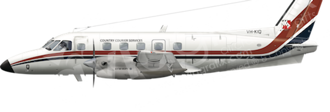 Country Courier - Embraer EMB110P1 - any5combo