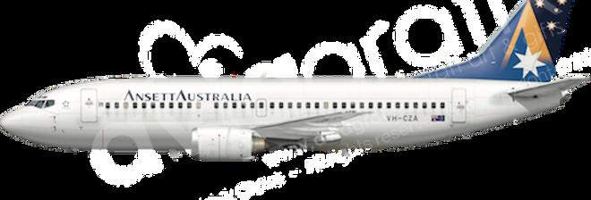 Ansett Australia - Boeing 737-377 - L5 any5combo
