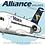 Thumbnail: Alliance Airlines - Fokker 100 - Cartoon Sticker