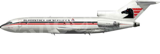 Bloodstock Air Services - Boeing 727-25C any5combo