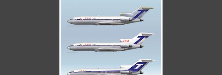 TAA - Boeing 727-76 VH-TJA - 4 Seasons