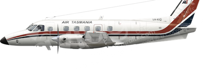 Air Tasmania - Embraer EMB110P1 - L1 any5combo