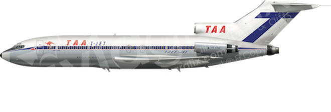 TAA - Boeing 727-76 - L3 any5combo