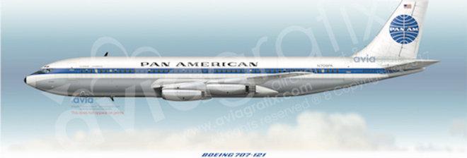 Pan Am - Boeing 707-121 N709PA