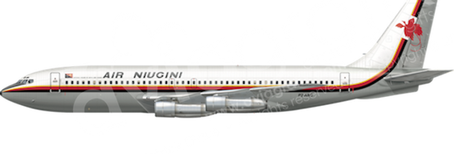 Air Niugini - Boeing 720-023B any5combo