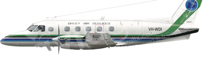 Davey Air Services - Embraer EMB110P1 - any5combo